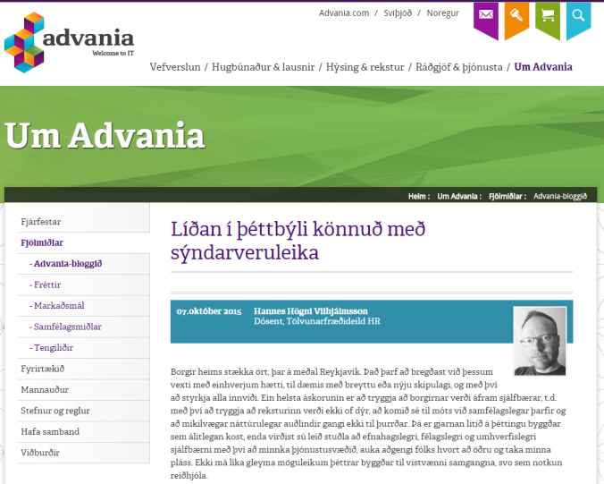 Advania blog